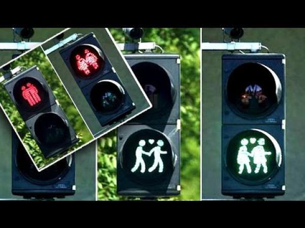 GALERIE - Gay semafory už i v Mnichově