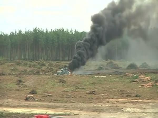 Havárie vrtulníku během letecké show
