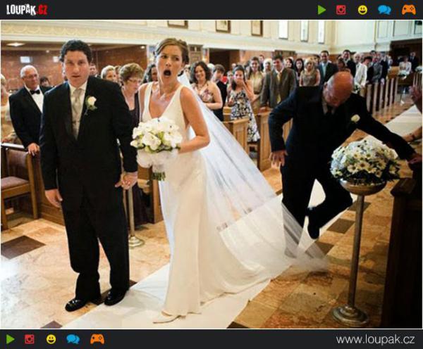 GALERIE - Zpackané svatební fotografie