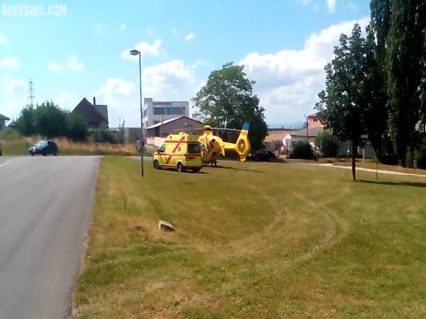 Česká republika - Napadení od řidiče sanitky