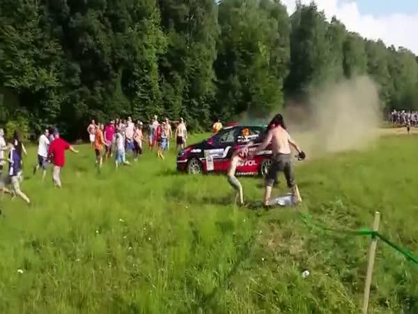 Rally - Dav zareagoval správně