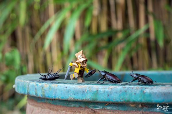 GALERIE - Miniaturní LEGO dobrodružství