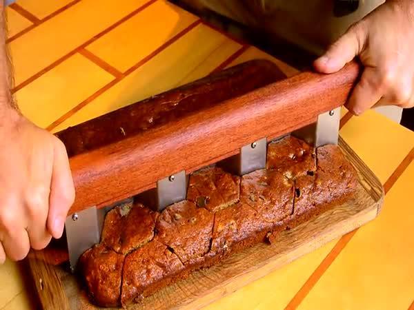 Návod - Originální nůž na buchtu