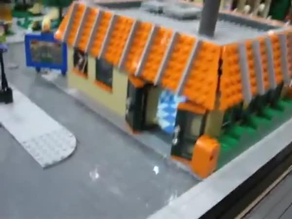 LEGO - Model městečka Springfield