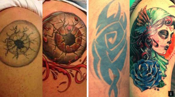 GALERIE - Napravená nezdařilá tetování