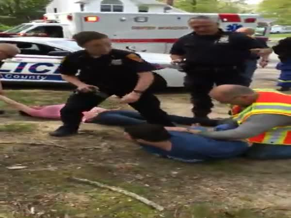 Náročný zásah policistů