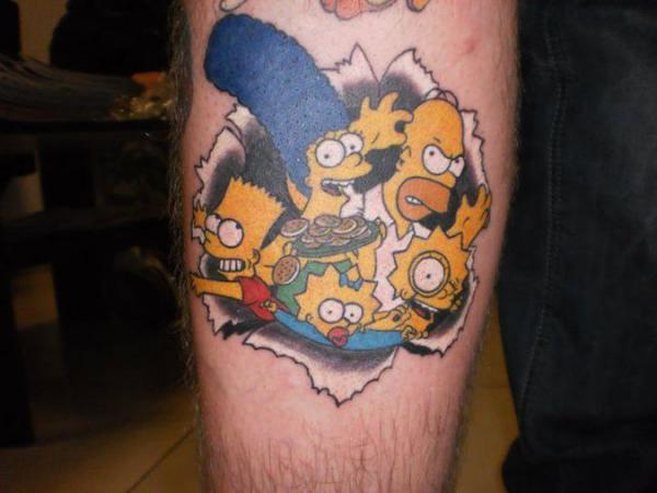 GALERIE - Nejlepší simpsnovská tetování