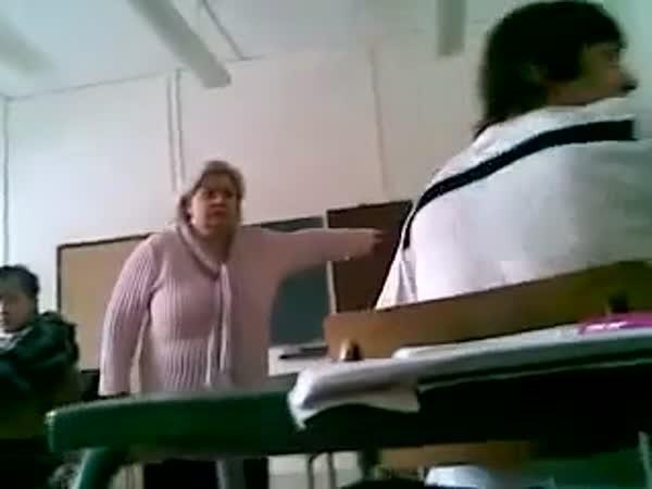 Slovensko - Provokace učitelky