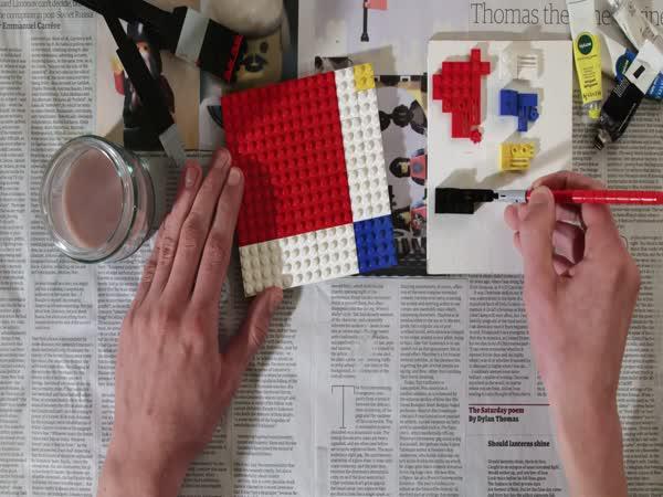 Krátký film - LEGO malování