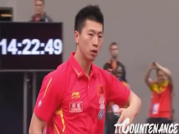Ma Long - král stolního tenisu