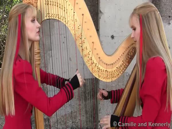 Metallica na harfu