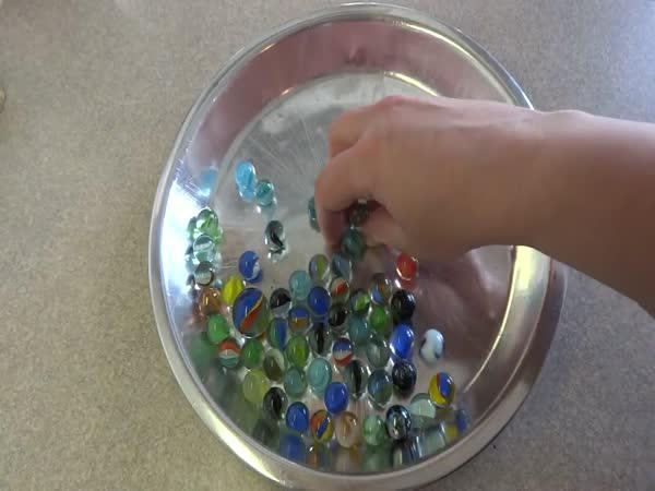Duhové kuličky a ledová voda
