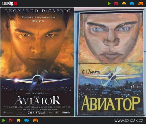 GALERIE - Filmové plakáty v ruském provedení