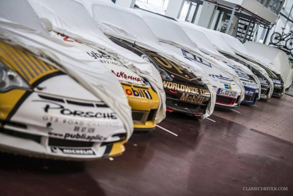 GALERIE - Skryté garáže Porsche