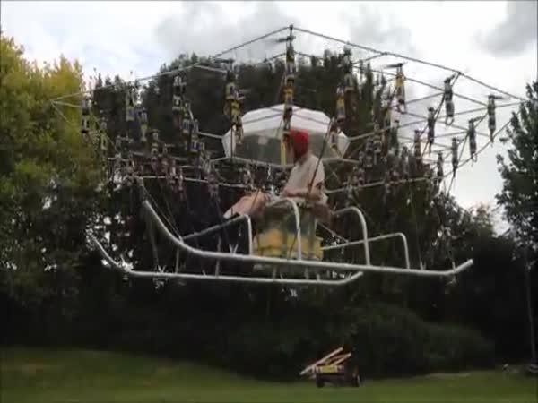 Postavil si vlastní helikoptéru!