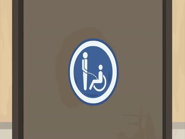 Záchody pro invalidy