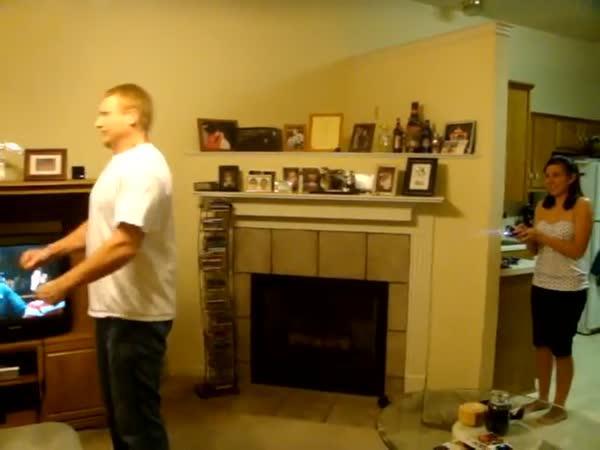 Pokus - Co udělá s chlapem taser