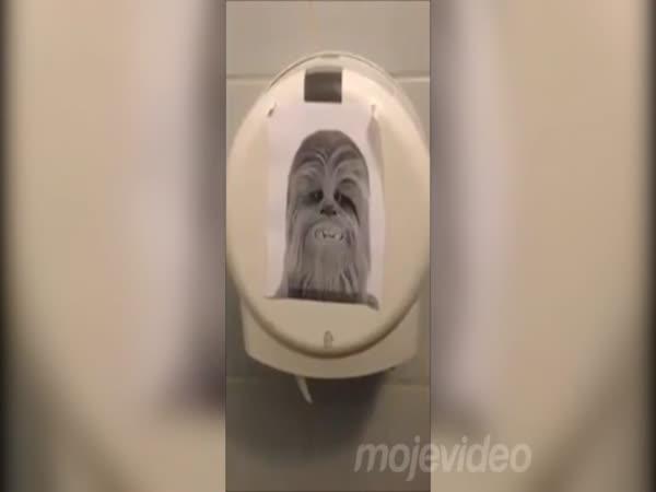 Záchod jako z Hvězdných válek