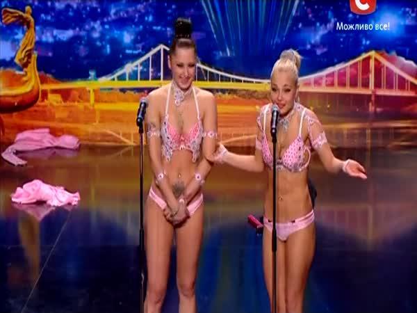 Ukrajina má talent - Gumové ženy