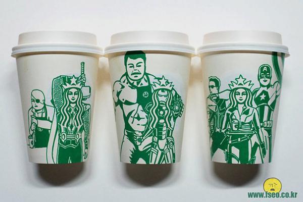 GALERIE - Originální Starbucks kelímky
