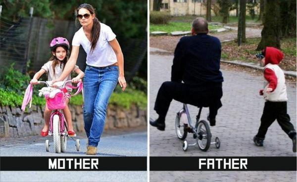 GALERIE - Máma versus táta