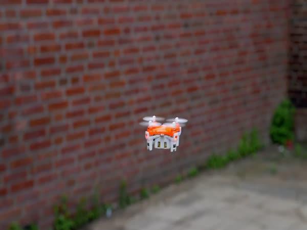 Nejmenší dron na světě