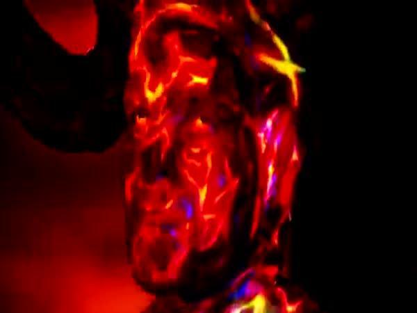 Nachytávka - Démon zapalující lidi