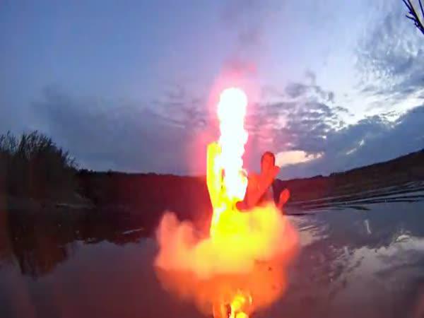 Pokus - Propan, Coca Cola a oheň
