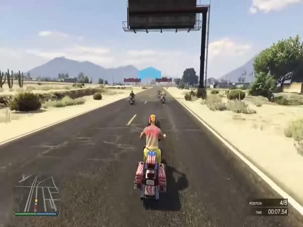 Jak vyhrát závod v GTA V