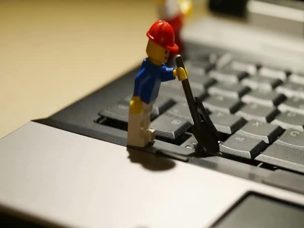 Lego vs. notebook