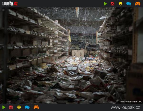 GALERIE - Současné fotografie z míst katastrof