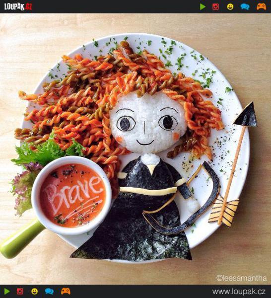 GALERIE - Zdravé Disney obědy