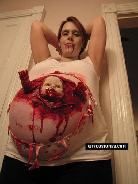 GALERIE - Masky těhotných žen