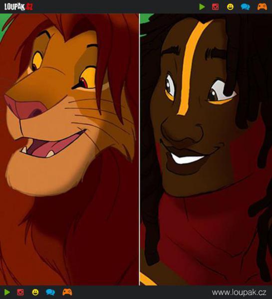 GALERIE - Postavy Lvího krále jako lidé