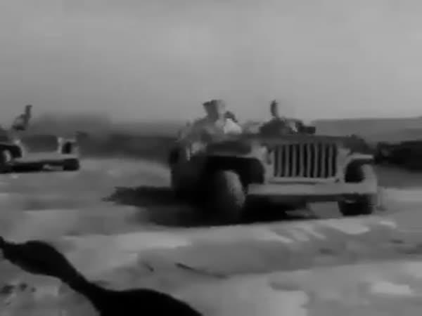 Testování auta v minulosti