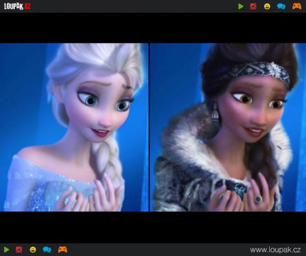 GALERIE - Exotické Disney princezny
