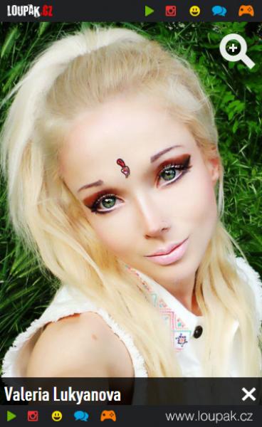 GALERIE - Živé Barbie