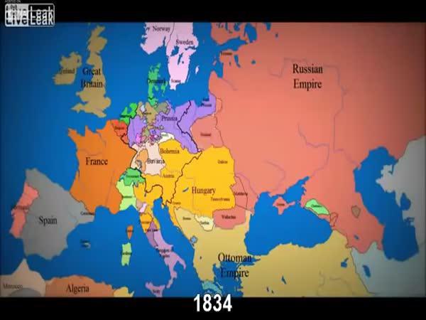 1000 let vývoje hranic evropských států