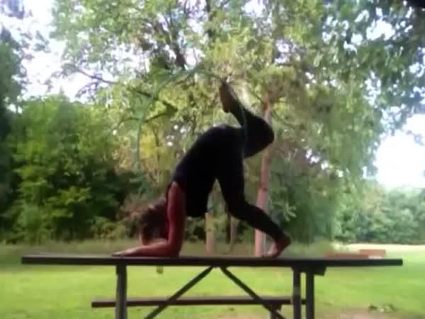 Nepovedené akrobatické kousky