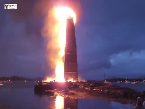 Největší vatra na světě