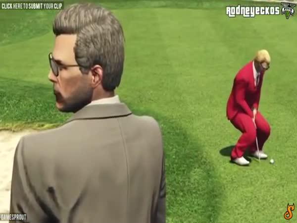 Zajímavé momenty z GTA V