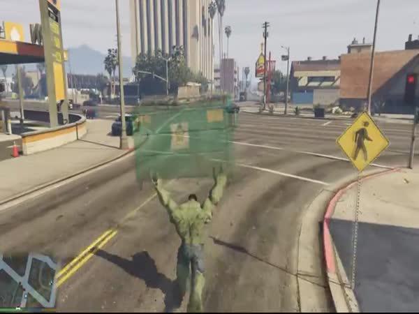 Hulk v GTA