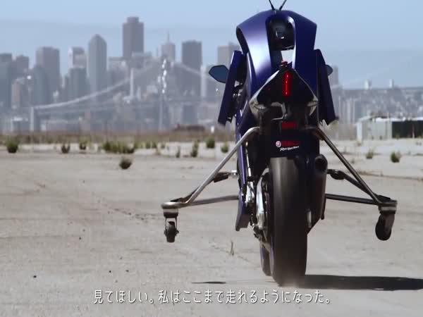 Yamaha testuje robota motorkáře