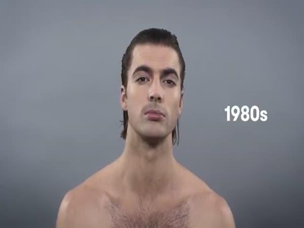 100 let mužské krásy
