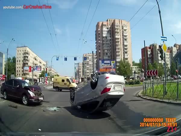 Dopravní nehody z celého světa #29