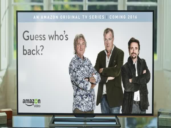 Jeremy Clarkson je zpět