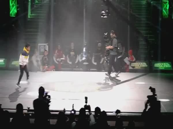 Borec - Break dance v 6 letech
