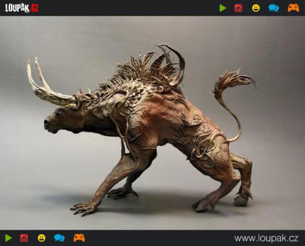 GALERIE -Rostliny a zvířata v sochách