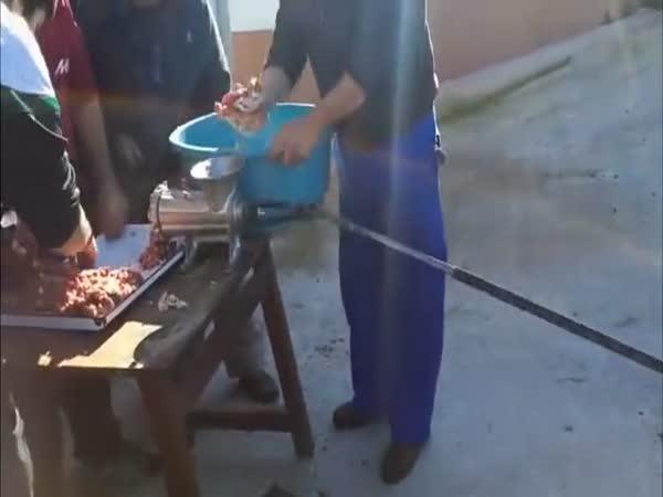 Domácí kutil - Upgrade mlýnku na maso