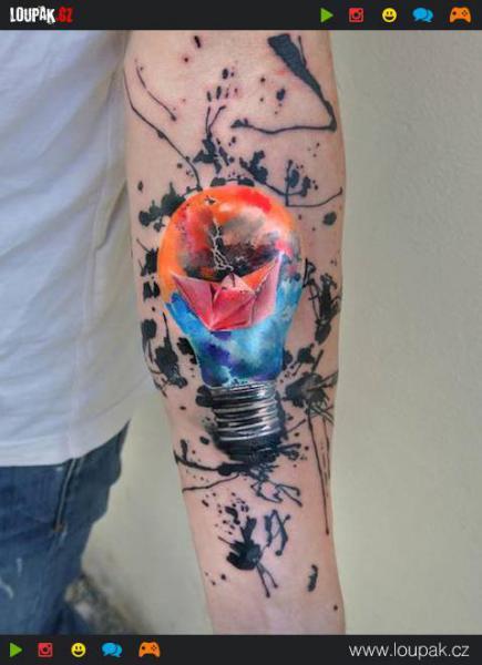 GALERIE - Úžasná akvarelová tetování